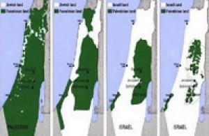100bin Belgeyle İsrail'in İşgal Haritası Çıkarılıyor